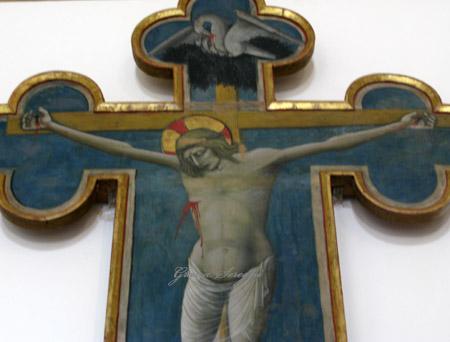 UMB CRISTO SU ALTARE ABBAZIA