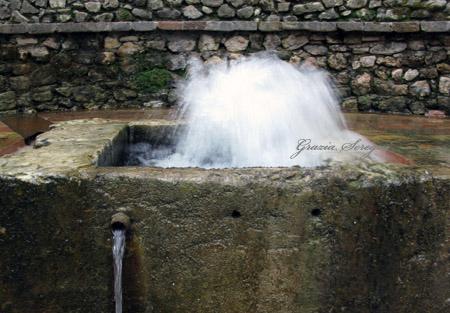 Fonte dell' acqua Tullia.