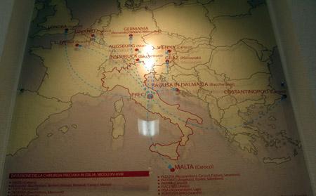 UMB MUSEO MEDICINA PRECIANA DIFFUSIONE EUROPEA