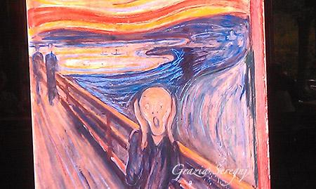 Norvegia Munch museo Oslo l urlo