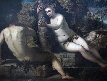 Ve tintoretto le tentazioni di Adami Eva IMG_0187