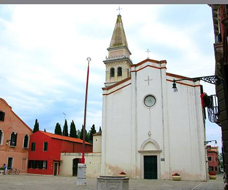 Venezia Malamocco chiesa