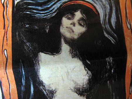 E.Munch; Madonna (1896) particolare IMG_0075