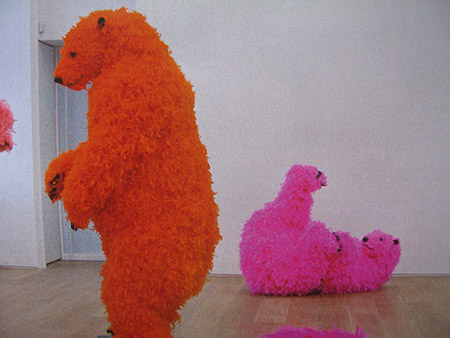 Galleria Emmanuel Pwrrotin 22; lavoro di Paola Pivi (Leone d'oro alla Biennale di Venezia  MG_0059