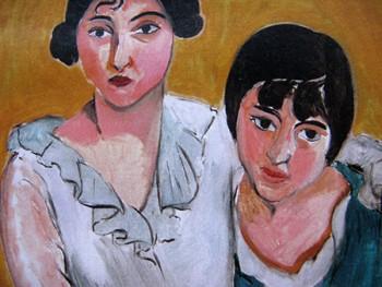 Matisse arte 450 Le due sorelle 1917 Denver Art Museum