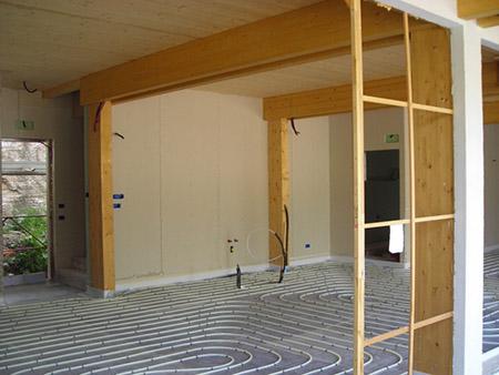 Casa in legno impianti