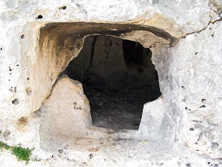 SICILIA Cavagrande necropoli