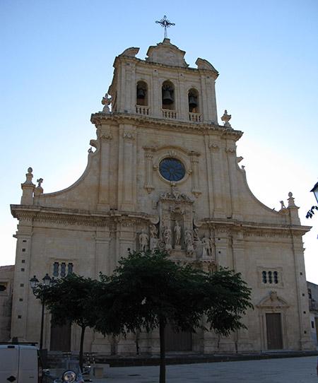 SICILIA Ferla Siracusa chiesa di S.Sebastiano