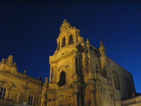 SICILIA Ibla chiesa dei Cavalieri di Malta