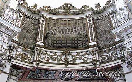 SICILIA Noto Santa Chiara le grate che proteggevano le suore di clausura