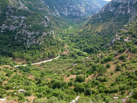 sicilia Cavagrande Siracusa panorama