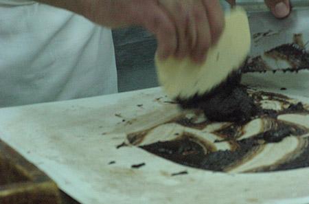 sicilia cioccolato impasto