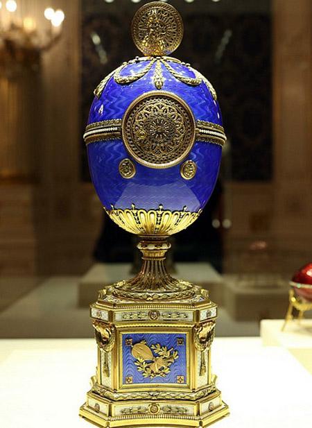 La cerimonia di apertura ufficiale del Museo Fabergé