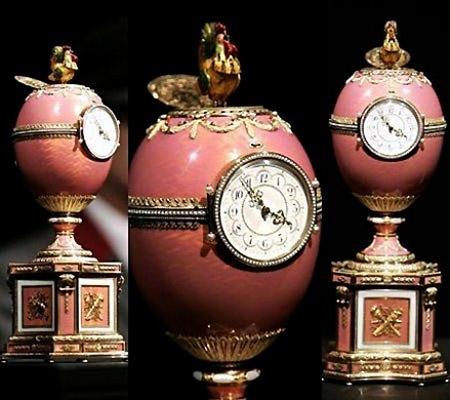 FABERGE'orologio-uovo-faberge