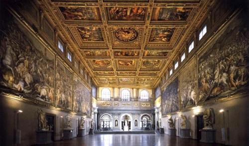 firenze Palazzo Vecchio. salone500