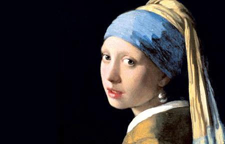 arte Vermeer La ragazza con l'orecchino di perla 1665