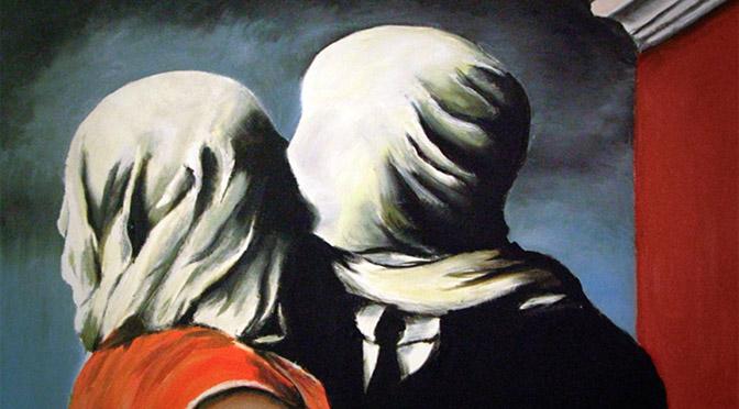 magritte-672 arte gli-amanti