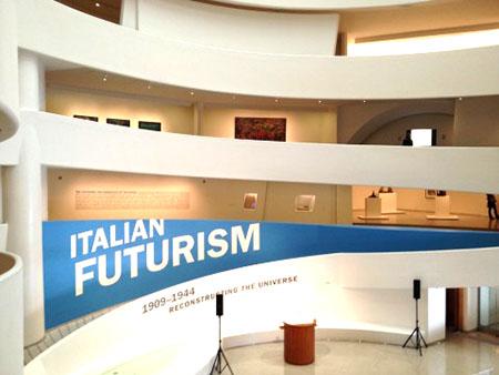 ARTE guggenheim New York mostra Futurusmo 2014
