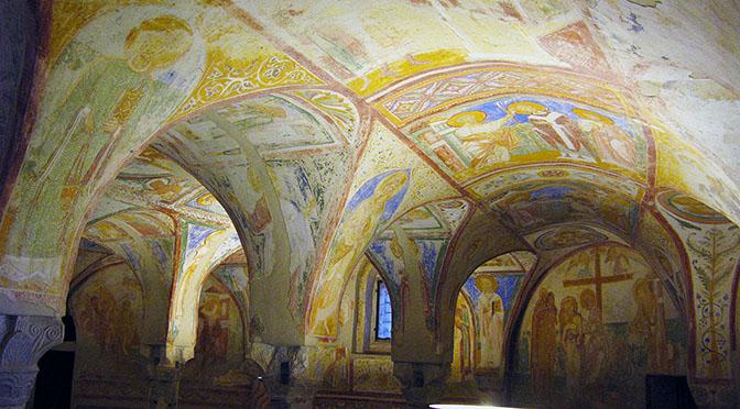 Aquileia cripta decorata