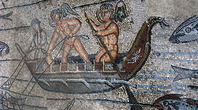 Aquileia mosaici barca