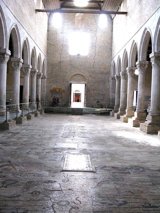 Aquileia pavimento a mosaico