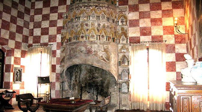 Castello di Monselice camino v