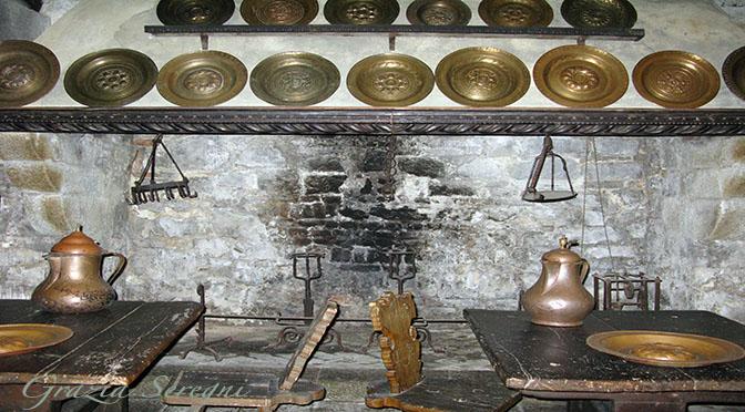 Castello di Monselice cucina pentole