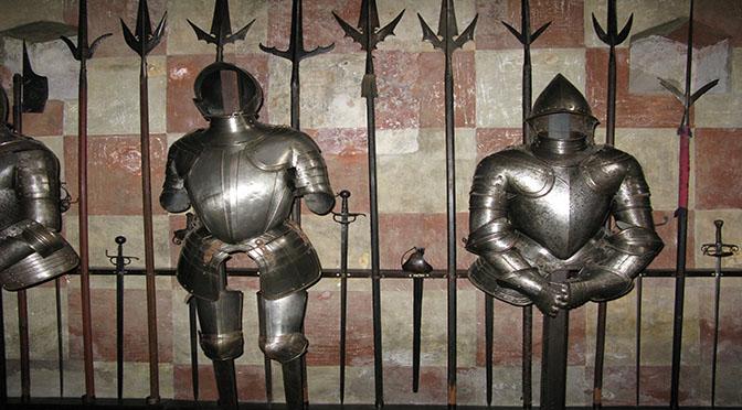 Castello di Monslice armature