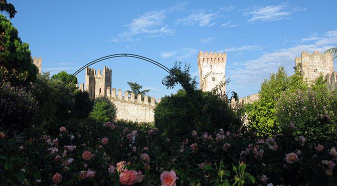Este Rocca di Ponte di Torre dai giardini