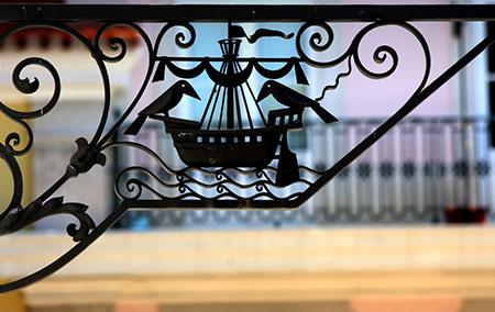 Lisbona Portogallo ferro battuto kj