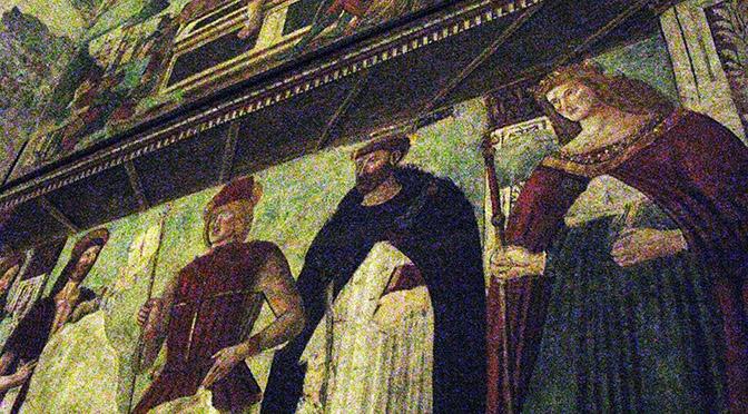 Monselice Duomo affresco della controfacciata