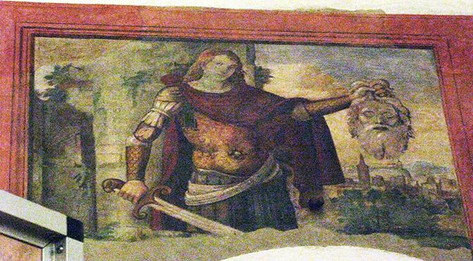 Montagnana Giorgione Giuditta e Oloferne duomo