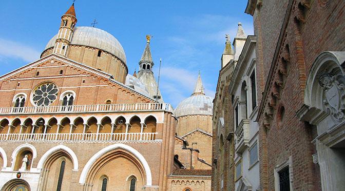 Padova la chiesa del Santo S Antonio