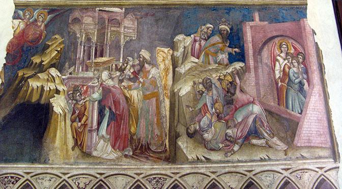 Padova trecentesco palazzo dei Signori da Carrara