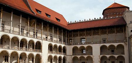 castello di wawel Zamek Cracovia