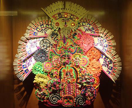 Bali Denpasar Museo di Bali artigianato con riso e zucchero xna