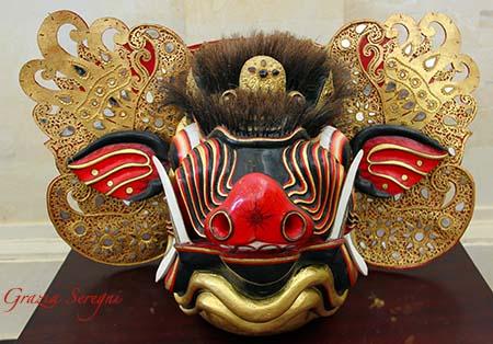 Bali Ubud Museo P.Lukisan maschera ok n