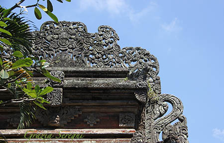 Bali Ubud Palazzo Reale particolare zx