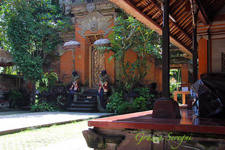 Bali Ubud Palazzo Reale vista