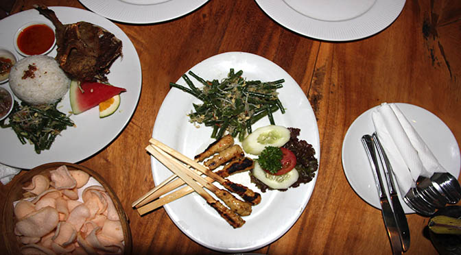 Bali cibo ristorante cucina balinese