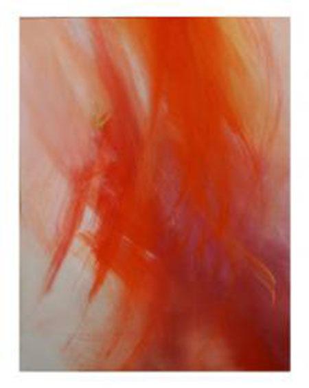 Arte Alessandra Angelini, Rosso, 20013, tempera preparata dall'artista su tela, cm 120x100