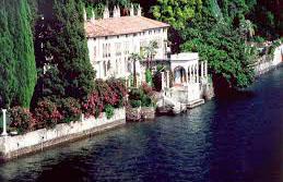 Lago di como Varenna sx Villa Monastero