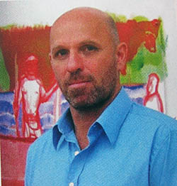 Art Basel 2014 Peter Doig IMG_0386