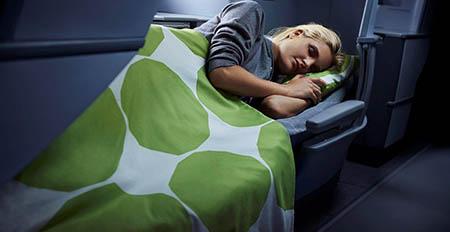 Finnair aereo 450 Sedili reclinabili