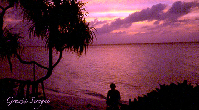 Tramonto panorama 672 Maldive old  copy