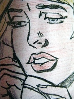 ARTE 300 Roy Lichtenstein, Drawing for Oh, Jeff…, 1964 IMG_0062