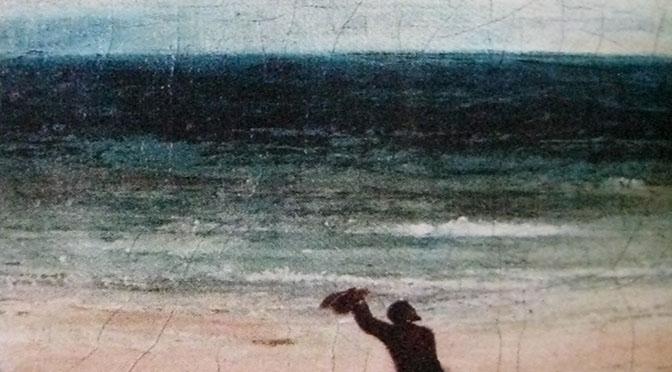 Arte 672 vario Gustave Coubert, Le bord de Mer a Palavas, 1854 IMG_0065