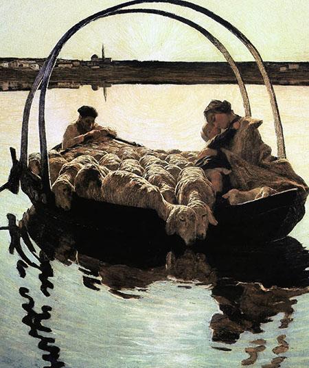 SEGANTINI Ave Maria a trasbordo 1886 (2a versione)42132301