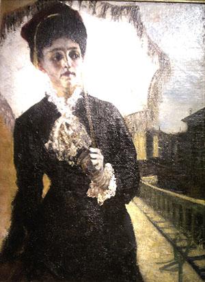 Segantini 300 Ritratto signora Torelli 1885-6 particolare IMAG4045
