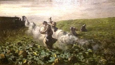Segantini 450 La raccolta delle zucche  1883-4IMAG4073_BURST002_COVER